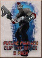 Future Fantasy Clip Art - Character Pack