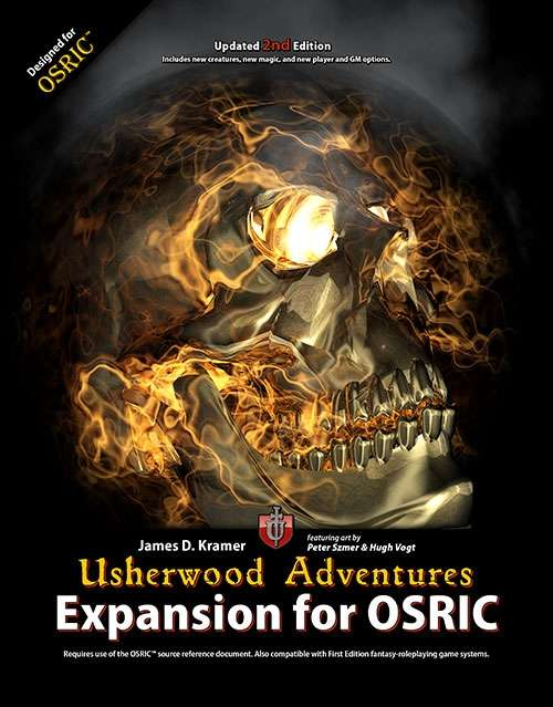 Usherwood Adventures Expansion for OSRIC (.mobi)