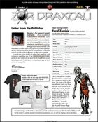 Zor Draxtau, Issue I
