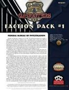 G-Men & Gangsters Faction Pack #1