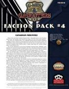 G-Men & Gangsters Faction Pack #4