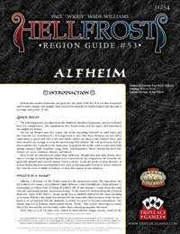 Hellfrost Region Guide #53: Alfheim