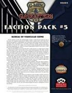 G-Men & Gangsters Faction Pack #5