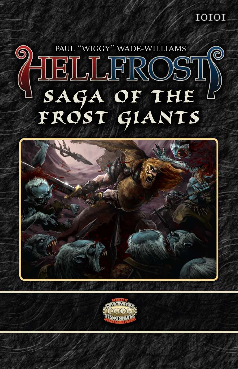 Hellfrost Saga of the Frost Giants
