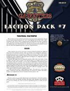 G-Men & Gangsters Faction Pack #7