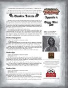 Leagues of Gothic Horror Appendix 1: Edgar Allan Poe