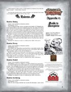 Leagues of Gothic Horror Appendix 2: Guide to Vampires