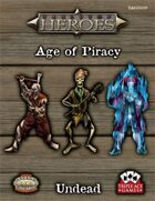Tabletop Heroes: Age of Piracy - Undead