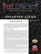 Hellfrost Region Guide #48: Dwarven Cities