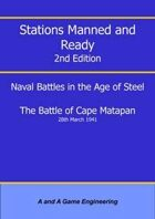Stations Manned and Ready - 2nd Edition - Battle of Cape Matapan