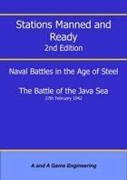 Stations Manned and Ready - 2nd Edition - Battle of the Java Sea
