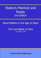 Stations Manned and Ready - 2nd Edition - 2nd Battle of Sirte