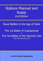 Stations Manned and Ready - 2nd Edition - 1st Battle of Guadalcanal