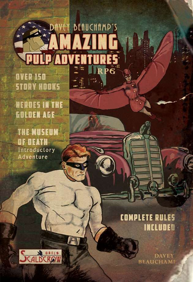 Davey Beauchamp's Amazing Pulp Adventures RPG