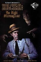 Kolchak: The Night Strangler Cover A