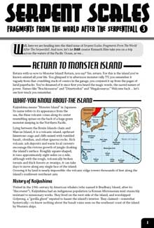 Serpent Scales #3: Return to Monster Island (Savage Worlds Edition)