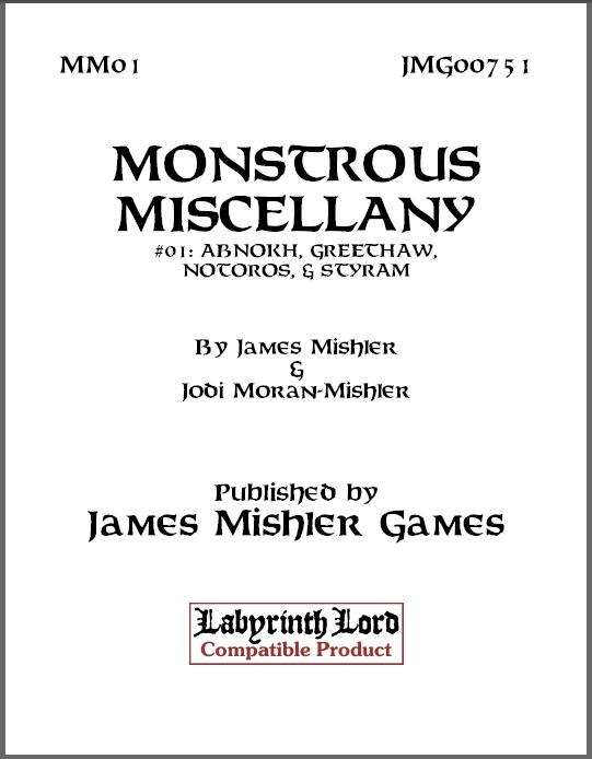 Monstrous Miscellany #01