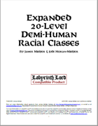 Expanded 20-Level Demi-Human Racial Classes