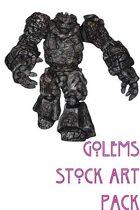 Golems Stock Art Pack