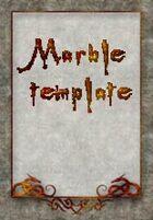 Elegant Marble Template