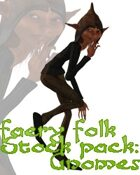 Faery Folk Stock Pack Series One: Gnomes