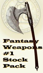 Fantasy Weapons Stock Pack 1