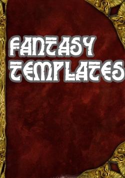 Book Cover Templates   Fantasy Book Cover Stock Sade Templates Fantasy Wargame Vault
