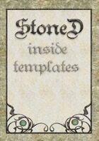 Stone Inside Templates