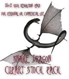 Snake Dragon Clipart Stock Pack