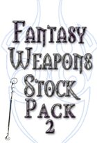 Fantasy Weapons Stock Art Pack 2