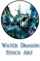 Water Dragon Stock Art Pack