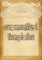 Ornamentical Templates