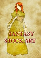 Fantasy Stock Art: Female Human