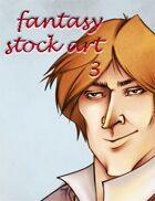 Fantasy Stock Art: Male Human