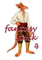 Fantasy Stock Art: Lizardman