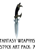 Fantasy Weapon Stock Art Pack: 7