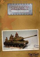 World at War: Soviet Vehicle Compendium