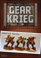 Gear Krieg: US Walker Compendium I - General Early