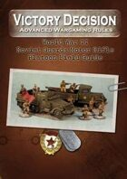 Victory Decision: WW II - Soviet Guards Motor Rifle Platoon Field Guide
