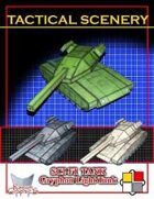 Tactical Scenery: Sci-fi Tank - Gryphon Light Tank