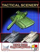 Tactical Scenery: Sci-fi Tank - Gryphon Light Tank