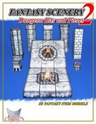 Fantasy Scenery: Dungeon Bits and Pieces 2
