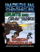 Imperium Chronicles - Grunts and Grav Tanks: Mech Assault