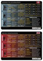 Bunkerstorm Reference Cards