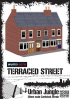 Terrace Houses - Cardstock building