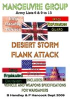 Manoeuvre Group Dessert Storm Flank Attack Gulf War 1 (1991) list 6 and 9 to 13