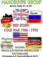 Manoeuvre Group – Red Storm   Cold War 1986 to 1990    Lists 21 to 26