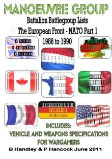 Battalion Battle Group Lists - The European Front - NATO Part 1  1986 to 1990