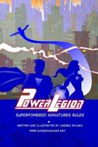Power Legion - Fast Rules for super-powered battles