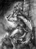 Barbarian clip art image